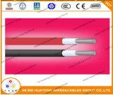 TUV genehmigte, ausgezeichneter Widerstand zur Abnutzung, Solarkabel 1X6.0mm2