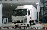 Veicolo leggero di Isuzu K600 con capienze di caricamento 3 - 6 tonnellate