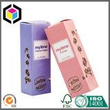 El color brillante metálico Cuidado de la Piel Crema de papel caja de cartón