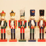 Figurines tamanhos real da resina das estátuas do soldado do Nutcracker da resina do costume 7inch