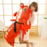 Juguete grande de encargo del cangrejo de la felpa de la talla
