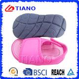 Sandalo cotone del tessuto e dei capretti comodi casuali di EVA (TNK36670/1)
