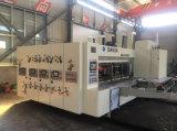 Completamente automática de la alimentación de la impresión flexo engranan y Die-Cutting máquina cartón
