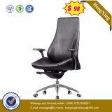 Cadeira de couro do escritório executivo do metal do cromo da mobília de escritório (HX-NH009)