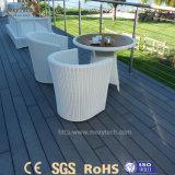 Европейское популярное напольное деревянное покрытие пола палубы зерна WPC