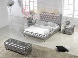 أسلوب [إيوروبن] يصمّم سرير متأخّر خشبيّة [غ807]