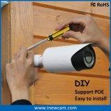 Cámara auto del IP del CCTV de la red del Poe del foco del zoom óptico caliente 4X