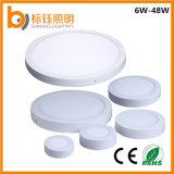 36W卸し業者500*500mmの正方形の表面の台紙のこつLEDの天井板ライト