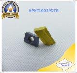 Zcc &#160의 강철 대안을%s Cutoutil Apkt160408 Pm; Part&#160를 기계로 가공하는 CNC;