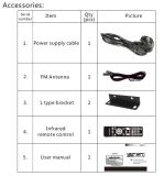 Public Address Mixer Amplificador con CD / DVD, USB, SD, FM, Bluetooth, Echo serie Se-80u