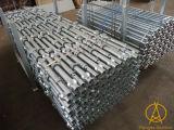 En12810 건설물자 판매를 위한 사용된 컵 자물쇠 비계