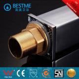 Miscelatore del dispersore del rubinetto del bacino di caduta dell'acqua cromato prezzo poco costoso (BM-B11122)
