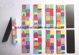 Magnete di carta magnetico del frigorifero del segnalibro di vendita calda