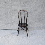 O restaurante da moda em alumínio mobiliário vintage empilháveis cadeiras de jardim de Metal Yc-UM77-04