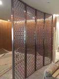 Scherm van het Metaal van de Comités van de Muur van het Roestvrij staal van de decoratie het Materiële voor de Verdelingen van het Restaurant