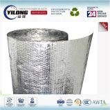 Matériau d'isolation ignifuge de bulle de papier d'aluminium