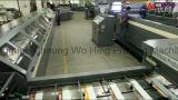 Roulis de papier 2+2printing et Mahinery de couper pour le manuel collant en arrière la fabrication