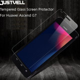 Huawei G7のための携帯電話の緩和されたガラススクリーンの保護装置
