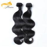 卸し売りブラジルの人間の毛髪のWeft人間の毛髪のブラジルの織り方
