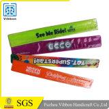 Wristband riflettente di schiaffo del PVC dei regali promozionali di modo