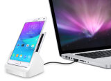 Chargeur de bureau de station d'amarrage de fente de batterie pour la galaxie Note4 de Samsung