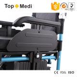 ترقية [ير-ند] كبير ألومنيوم [إلكتريك بوور] كرسيّ ذو عجلات مع [بغ] جهاز تحكّم