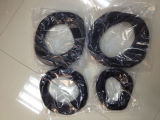 China-Hersteller-StandardAs568 Silikon, NBR, Viton, EPDM, HNBR Gummi-O-Ring