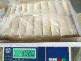 Ressort oblong fabriqué à la main Rolls du légume 17g/Piece Cylinderical de 100% congelé par IQF