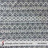 Merletto all'ingrosso del cotone del tessuto del jacquard per l'indumento (M3091)