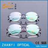 Eyeglass Eyewear рамки оптически стекел облегченного Rimless способа Semi-Rimless Titanium с шарниром (1509-EW)
