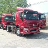 트레일러 맨 위 Sinotruk HOWO 4X2 트랙터 트럭