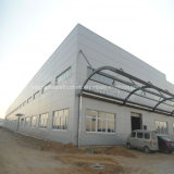 Taller de pórtico de la construcción de acero con alta calidad