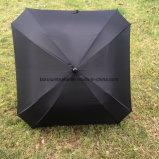 Guarda-chuva quadrado do golfe da forma