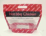 Sacchetto caldo del pollo del BBQ di a microonde con la chiusura lampo