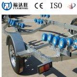Hochleistungsgalvanisierung-/Puder-Beschichtung-Boots-Schlussteil mit Rolle