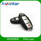 Mecanismo impulsor plástico del flash del USB del clave del coche del disco del USB del regalo de la promoción