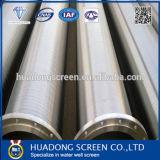 filtro per pozzi dell'acqua della scanalatura di 219mm/tubi continui del Johnson