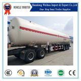Aanhangwagen van de Tank van het Vervoer van het LNG 60000L van China de Hete Verkopende voor Verkoop