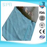 4pcs/bolsa o en paquete grande con papel adhesivo de toallas de limpieza de microfibra