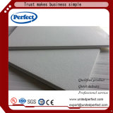 Tuiles acoustiques de plafond de baisse de fibre de laines de laitier pour le matériau décoratif