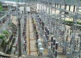 Struttura d'acciaio della sottostazione elettrica da 132 chilovolt