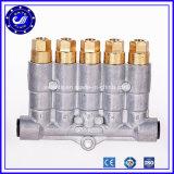 Múltiple de regulación del latón del aire de 6 maneras del distribuidor ajustable neumático del petróleo