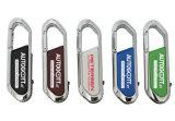 Bastone di memoria di Pendrives della scheda istantanea del USB del disco istantaneo del pollice del USB della scheda di memoria del USB del bastone del USB di Carabiner di marchio dell'OEM dell'azionamento dell'istantaneo del USB