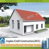 Casas vivas fáciles del panel de emparedado de la estructura del precio bajo