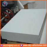 Panneau isolant ignifuge réfractaire de fibre en céramique de prix usine pour des cheminées