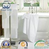 Tovagliolo domestico bianco dell'hotel/motel/del cotone del bagno di Terry