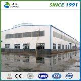 Edificio de acero del taller del metal prefabricado grande