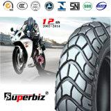 OEM de 13 pouces nouveau 6pr de la courroie de nylon mélangés de caoutchouc naturel des pneus diagonaux Pattern scooter moto pneu vide (130/60-13) avec CCC