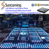 Nuevo espejo 3D LED Dance Floor del infinito