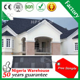 Pierre Feuille de toiture en métal recouvert de carrelage en pierre de matériaux de construction de l'Afrique Hot Sale